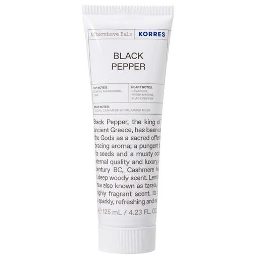 Korres Black Pepper Aftershave Γαλάκτωμα για Μετά το Ξύρισμα 125ml