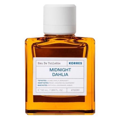 Korres Midnight Dahlia Eau De Toilette Άρωμα με Νότες  Lychee, Dahlia, Bergamot 50ml