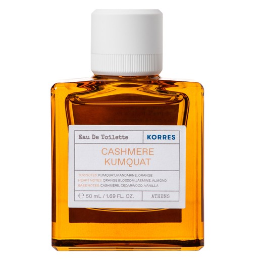 Korres Cashmere Kumquat Eau De Toilette Άρωμα με Νότες Kumquat, Mandarine, Orange 50ml