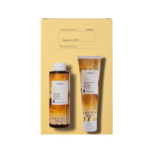 Korres Promo Refreshing Surprise Citrus Showergel 250ml & Citrus Body Milk 125ml σε Ειδική Τιμή