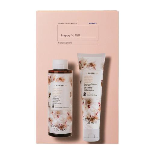 Korres Promo Floral Delight White Blossom Showergel 250ml & White Blossom Body Milk 125ml σε Ειδική Τιμή