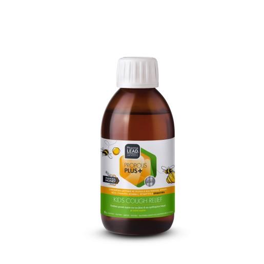 Pharmalead Propolis Plus Kids Cough Relief With Manuka Honey Παιδικό Φυτικό Σιρόπι για τον Βήχα & τον Ερεθισμένο Λαιμό 200ml