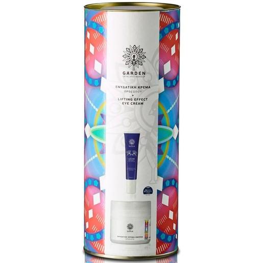 Garden of Panthenols Promo Tube 4  Lifting Eye Cream Κρέμα Ματιών 30ml & Ενυδατική Κρέμα Ημέρας με Αντηλιακά Φίλτρα 50ml