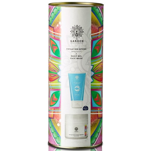 Garden of Panthenols Promo Tube 2 Ενυδατική Κρέμα Ημέρας με Αντηλιακά Φίλτρα 50ml & Daily Gel Face Wash Gel Καθαρισμού 150ml