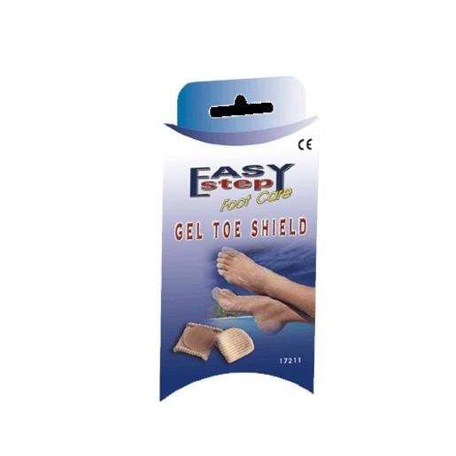John\'s Easy Step Foot Care Gel Toe Shield Ασπίδα Δακτύλου από Gel 17211 S-M 1 Τεμάχιο