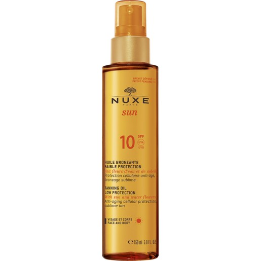 Nuxe Sun Huile Bronzante Spf10, 150ml Promo -20%