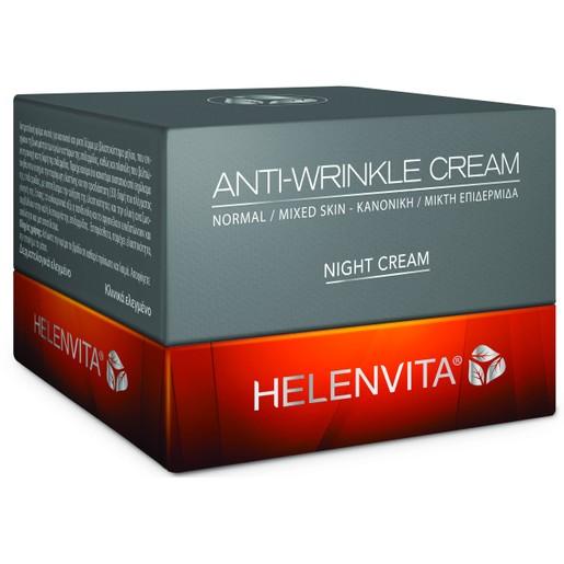 Helenvita Anti-Wrinkle Night Cream Normal/Mixed Skin Αντιρυτιδική Κρέμα Νυκτός για Κανονική/Μικτή Επιδερμίδα 50ml