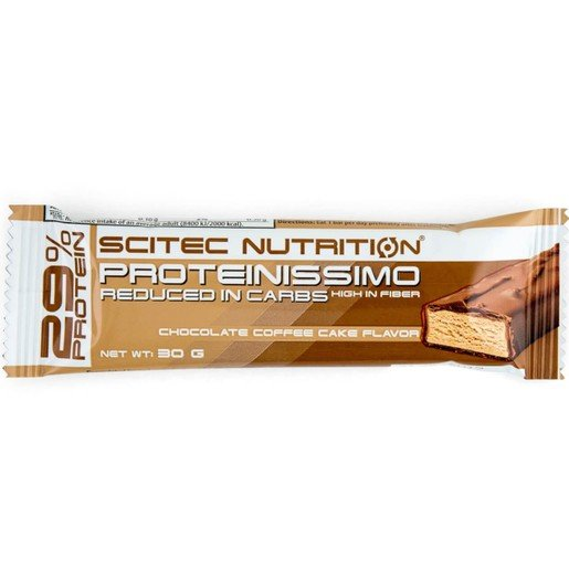 Scitec Nutrition Proteinissimo Bar Μπάρα Πρωτεΐνης με Γεύση Chocolate Coffee Cake 30gr