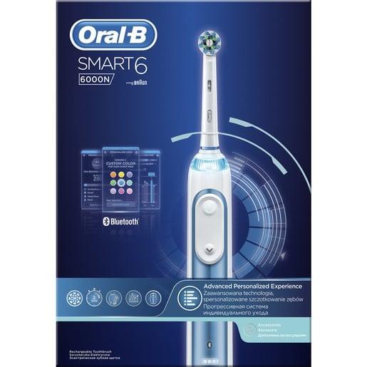 Oral-B Smart 6 6000 N Ηλεκτρική Οδοντόβουρτσα