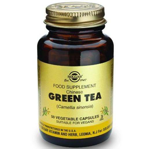 Green Tea 50 veg.caps - Solgar