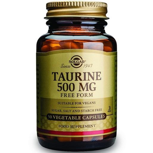 Solgar Taurine 500mg 50 veg.caps