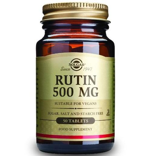 Solgar Rutin 500mg 50 tabs