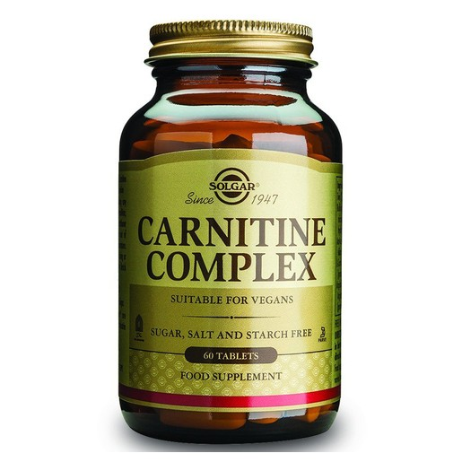 Solgar Carnitine Complex 60 tabs