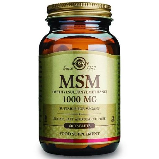 Solgar MSM 1000mg 60 tabs