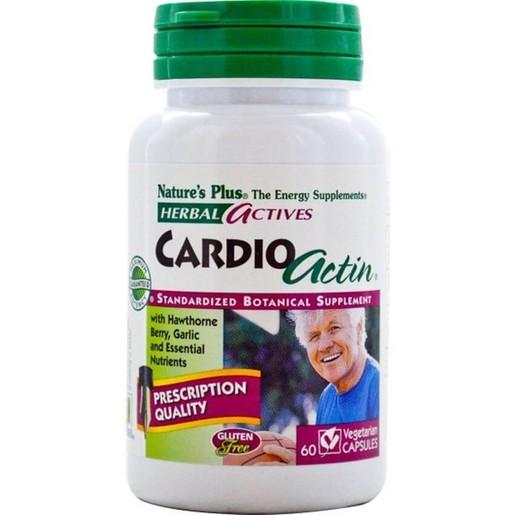 Nature\'s Plus Cardio Actin Συμπλήρωμα Διατροφής για την Υποστήριξη της Καλής Λειτουργίας της Καρδιάς 60caps