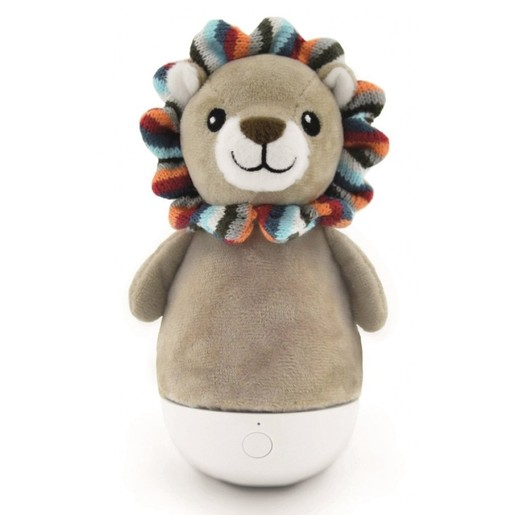 Zazu Tumble Light Lion Lex Λιονταράκι Φωτάκι Νύχτας, Κουνιστό, Πολύχρωμο, από 0 Μηνών