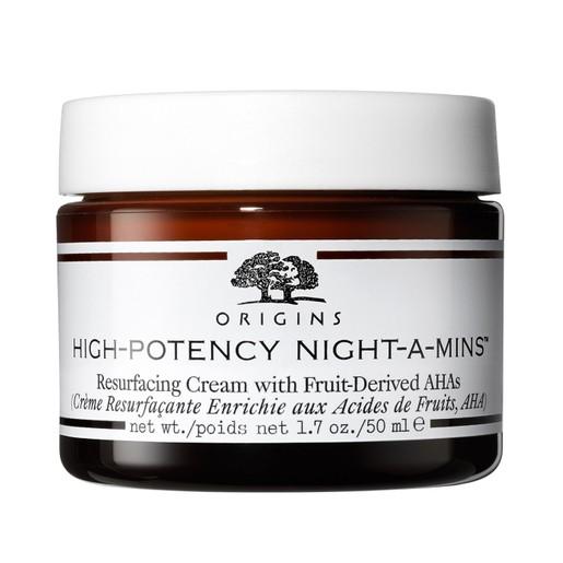 Origins High-Potency Night-A-Mins Resurfacing Cream With Fruit-Derived Aha'S Πλούσια Κρέμα Νύχτας Αναδόμησης & Αποτοξίνωσης 50ml
