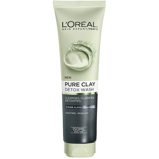 L\'oreal Paris Pure Clay Detox Wash 150ml