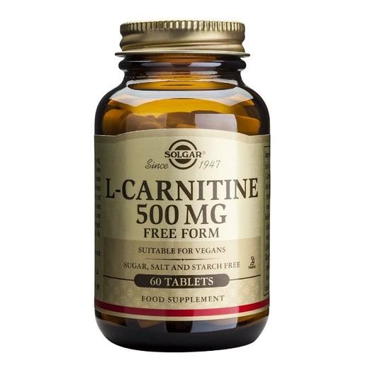 Solgar L-Carnitine 500mg tabs