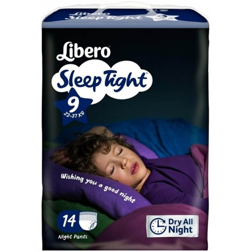 Libero Sleep Tight No9 (22-37kg) Night Pants, 14 πάνες
