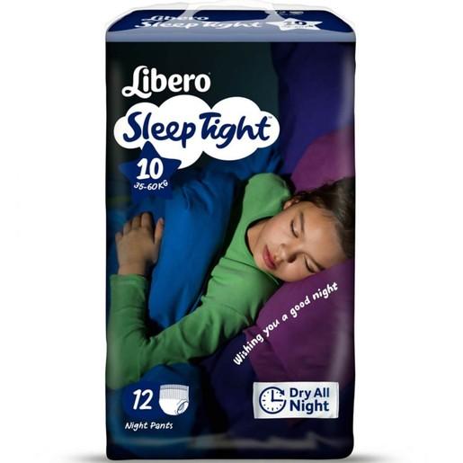 Libero Sleep Tight No10 (35-60kg) Night Pants, 12 πάνες
