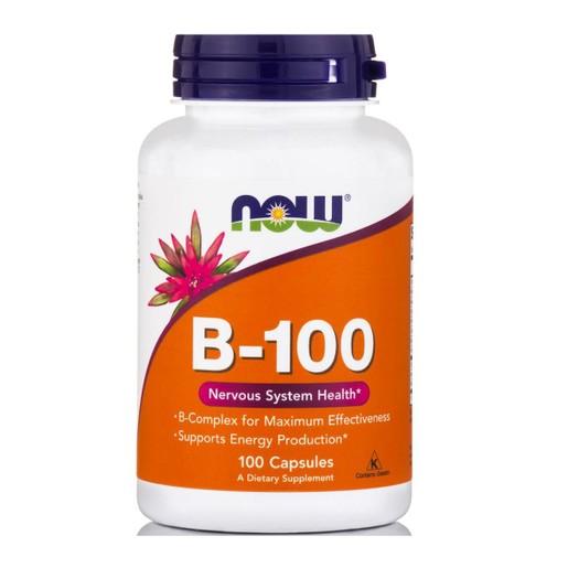 Now Foods B-100 Complex Προάγει την Υγεία του Νευρικού Συστήματος 100caps