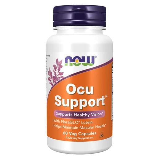 Now Foods Ocu Support™ Συμπλήρωμα Διατροφής, Φυτική Φόρμουλα Σχεδιασμένη να Υποστηρίζει την Υγεία των Ματιών 60 VegCaps