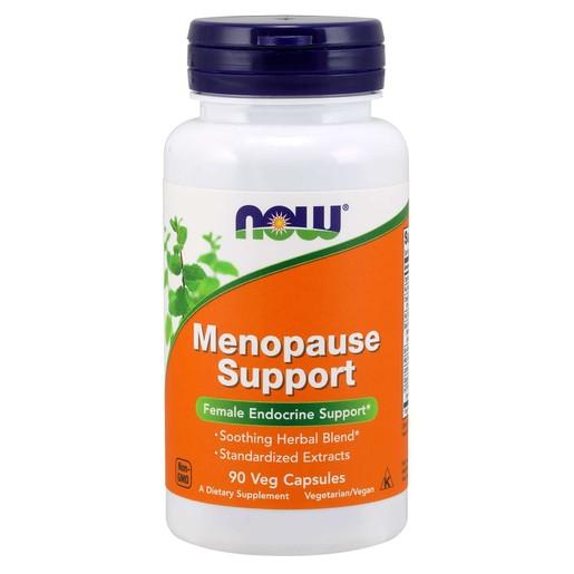 Now Foods Menopause Support Συμπλήρωμα Διατροφής, Ειδική Πολυφόρμουλα Αντιμετώπισης των Συμπτωμάτων της Εμμηνόπαυσης  90 VegCaps