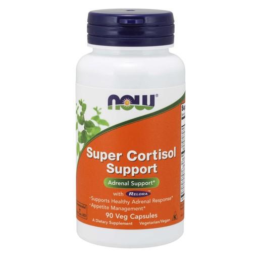 Now Foods Super Cortisol Support with Relora™ Συμπλήρωμα Διατροφής που Διατηρεί τη Κορτιζόλη σε Υγιή Επίπεδα 90 VegCaps