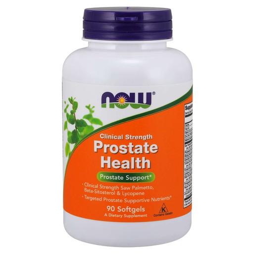 Now Foods Prostate Health Clinical Strength Συμπλήρωμα Διατροφής για την Προστασία της Υπερπλασίας του Προστάτη 90 Softgels