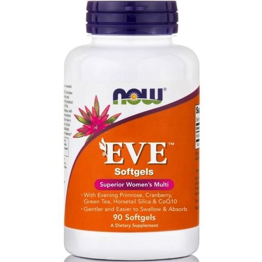 Now Foods Eve™ Women\'s Multiple Vitamin Μοναδική Πολυβιταμινούχος Φόρμουλα για τη Γυναίκα 90softgels