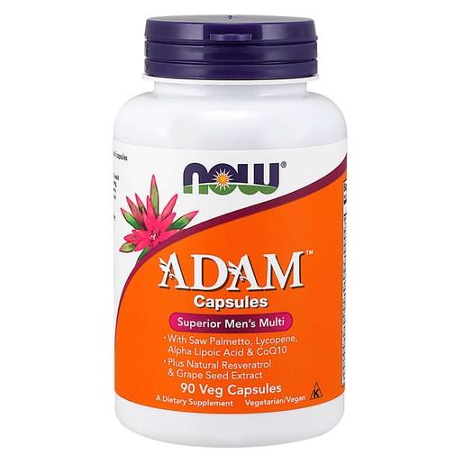 Now Foods Adam Men\'s Multiple Vitamin Συμπλήρωμα Διατροφής Πολυβιταμινούχος Φόρμουλα Ειδικά Σχεδιασμένη για τον Άνδρα 90Veg.caps