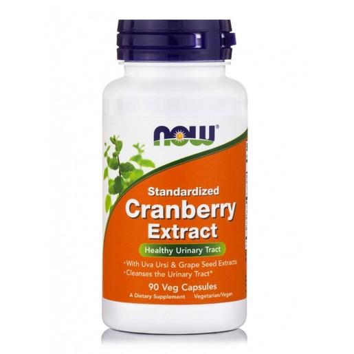 Now Foods Cranberry Maximum Strength Συμπλήρωμα Διατροφής για Πρόληψη & Αντιμετώπιση Λοιμώξεων του Ουροποιητικού 90 VegCaps