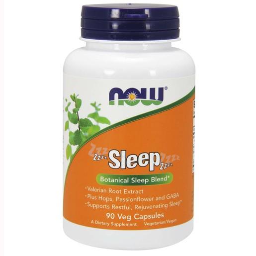 Now Foods Sleep Formula Συμπλήρωμα Διατροφής, Ειδική Φόρμουλα για Ήρεμο Ύπνο & Χαλάρωση Νευρικού Συστήματος 90 VegCaps