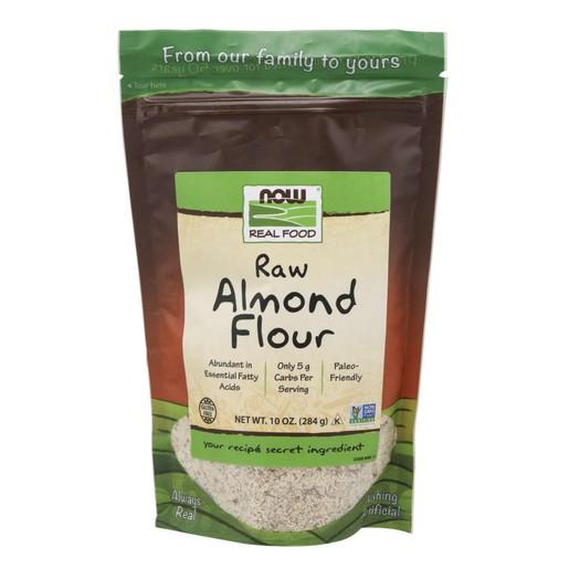 Now Foods Pure Almond Flour Raw Θρεπτικό Αλεύρι Αμυγδάλου Βιολογικής Προέλευσης 284gr