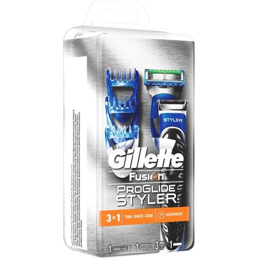 Gillette Fusion Proglide Styler Ξυριστικό Σύστημα (μηχανή + 1 Ανταλλακτικό)