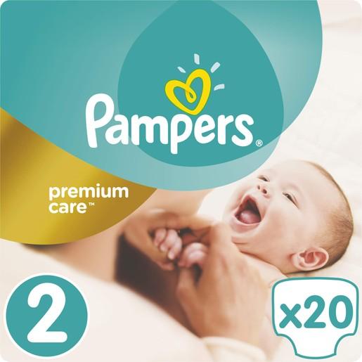 Pampers Premium Care Νο2 (3-6kg) 20 πάνες