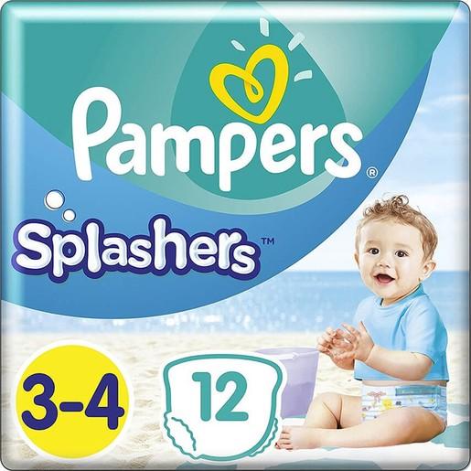 Pampers Splashers No3-4 (6-11kg) 12 πάνες