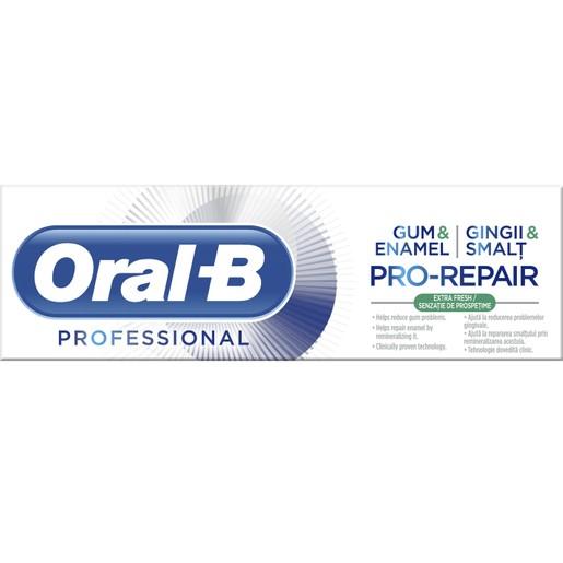 Oral-B Professional Gum & Enamel Pro-Repair Extra Fresh Οδοντόκρεμα για Αναδόμηση Ούλων και Σμάλτου 75ml