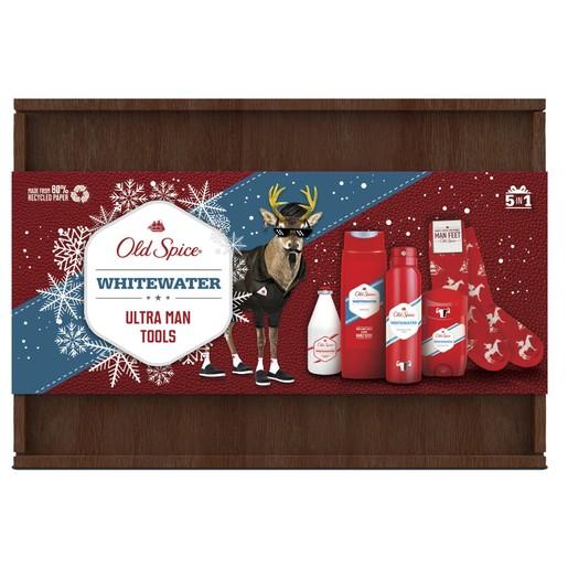 Old Spice Πακέτο Προσφοράς Xmas Whitewater Set Σετ Πλήρους Περιποίησης για τον Άνδρα σε Συσκευασία Δώρου