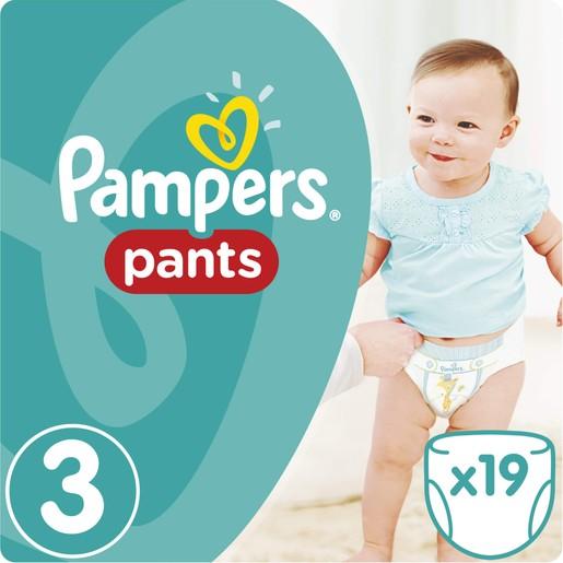 Pampers Pants Νο3 (6-11kg) 19 πάνες