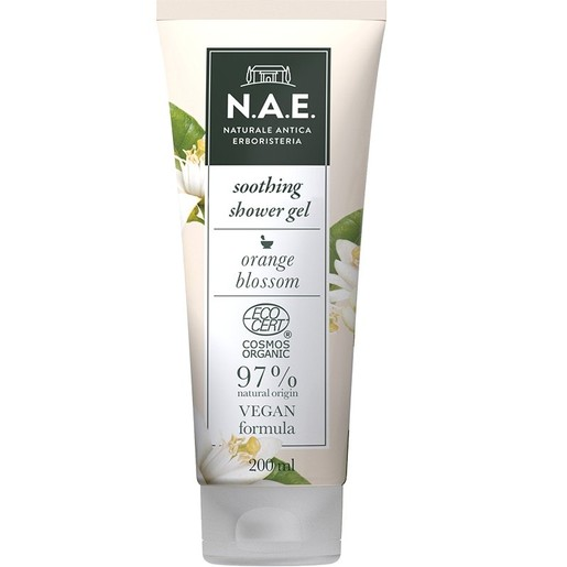 N.A.E. Delecatezza Soothing Shower Gel Απαλό Αφροντούζ για Ευαίσθητη Επιδερμίδα με Διακριτικό Άρωμα 200ml