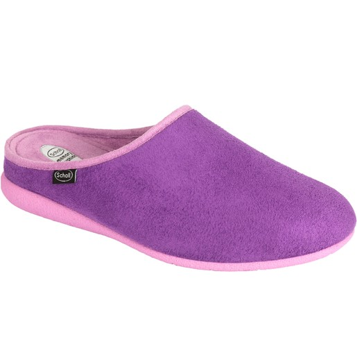 Dr Scholl Shoes Chika Μωβ / Λιλά Ανατομικές Παντόφλες Εξαιρετικά Άνετες και Εύκαμπτες 1 Ζευγάρι
