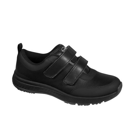 Scholl Shoes Energy Plus Double Strap Man Black Ανδρικά Ανατομικά Παπούτσια Χαρίζουν Φυσικό Χωρίς Πόνο Βάδισμα 1 Ζευγάρι