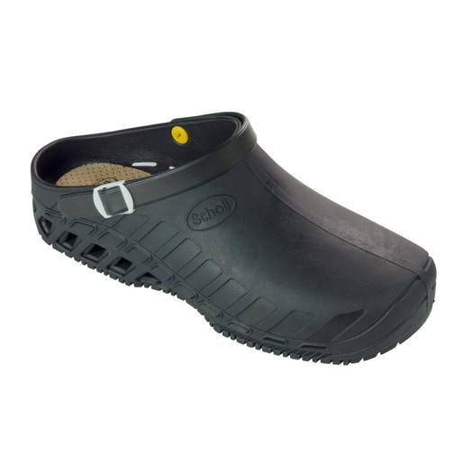 Scholl Shoes Clog Evo Black Μαύρο Επαγγελματικά Παπούτσια, Χαρίζουν Σωστή Στάση & Φυσικό Χωρίς Πόνο Βάδισμα 1 Ζευγάρι