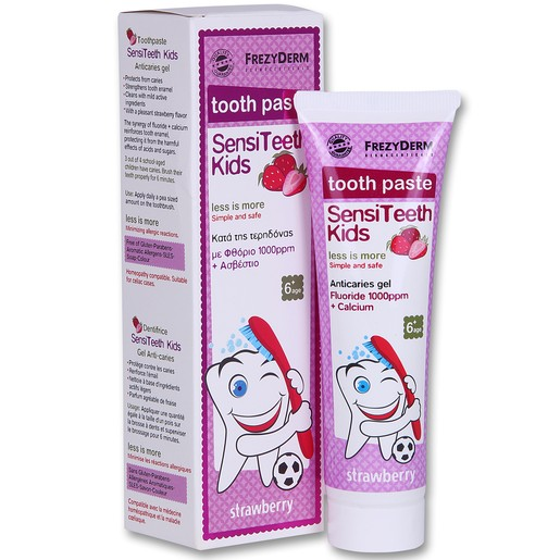 SensiTeeth Kids Tooth Paste 1.000ppm 50ml - Frezyderm