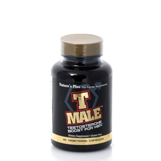 Nature\'s Plus T Male Συμπλήρωμα Διατροφής για την Αύξηση της Τεστοστερόνης 60caps