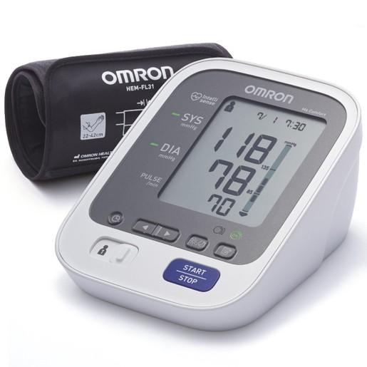 OMRON M6 Comfort Αυτόματο Ψηφιακό Πιεσόμετρο Μπράτσου με 10 ΧΡΟΝΙΑ Εγγύηση