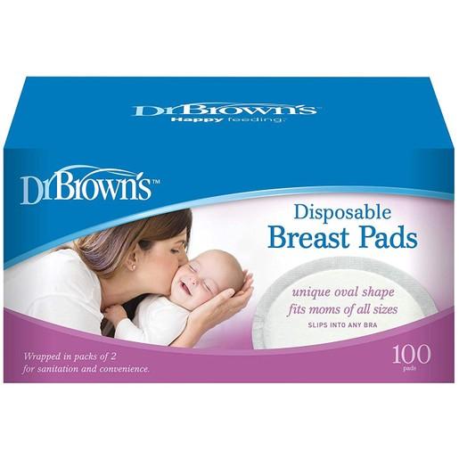 Dr. Brown\'s Επιθέματα Στήθους Μίας Χρήσης 60τεμ