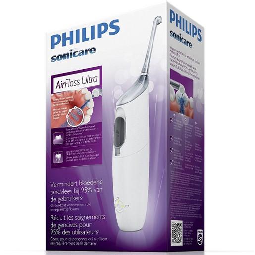 Philips Sonicare Air Floss Ultra Ηλεκτρική Οδοντόβουρτσα για πιο Εύκολο & Αποτελεσματικό Καθαρισμό Ανάμεσα στα Δόντια HX8331/01